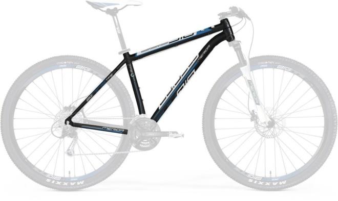Рама велосипеда Merida Big.Nine TFS 100, чёрно-бело-синяя