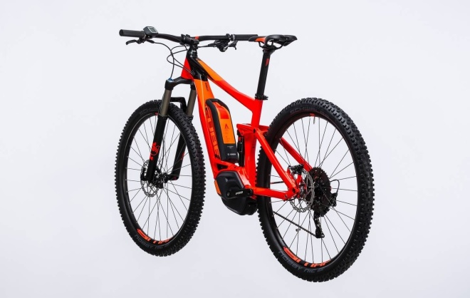 Велосипед Cube Stereo Hybrid 120 HPA Race 500 27.5 (2017)