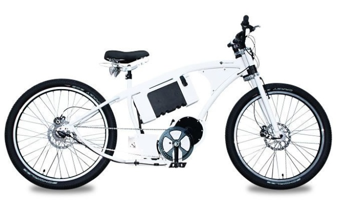 Электровелосипед PG-Bikes Dark Basic