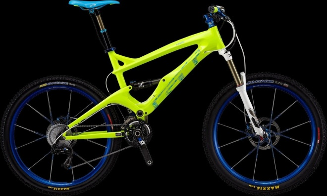 Двухподвес GT Force Carbon Pro - Neon Yellow