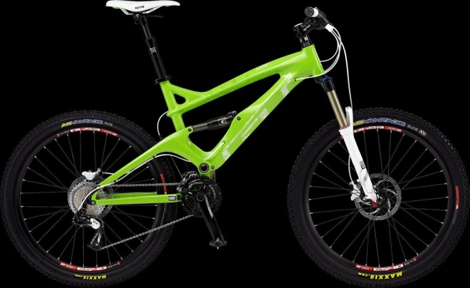 Двухподвес GT Force Carbon Sport - Bright Green