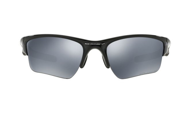 Очки спортивные Oakley Half Jacket 2.0 XL, чёрные Polished Black/Black Iridium Polarized - фото 3