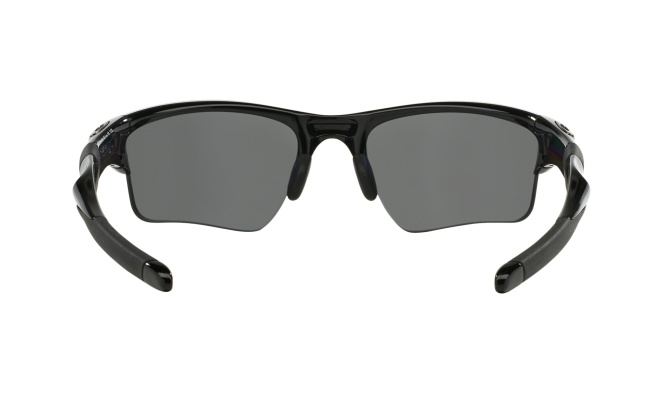 Очки спортивные Oakley Half Jacket 2.0 XL, чёрные Polished Black/Black Iridium Polarized - фото 1