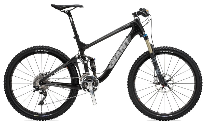 Велосипед Giant Trance X Advanced SL 0 (2011)