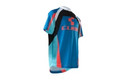 Джерси Cube Junior Action Team Round-Neck Jersey, сине-бело-красное