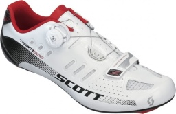 Велотуфли Scott Road Team Boa Shoe, бело-чёрные