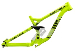 Рама велосипеда Commencal Supreme DH, жёлтая